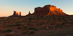 You have to stand up for some things in this world... (ferpectshotz) Tags: utah southwesternutah monumentvalley navajonation navajosandstones mesa butte sunset color desert