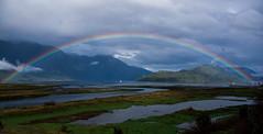 DSC_8333 (Andres Escalona Fotografia) Tags: hornopiren arcoiris mar playa embarcacin bote sur verde marea horizonte colores rojo azul medio ambiente hualaihu lagos arena rios
