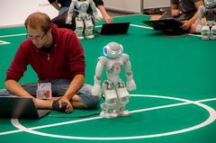 IMGP7299.jpg (Ingo Scholtz) Tags: fusball juli2016 juni2016 leipzig robocup2016 robocup roboter robots soccer