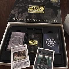 Luke. Vader. #starwars #backtomyyouth #teachingthenextgeneration (iamwildunknown) Tags: project camera 365