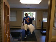 P1260278 (Widener University) Tags: movein studentmoveinday freshmanmoveinday freshman transfer boxes bins unload volunteers faculty staff