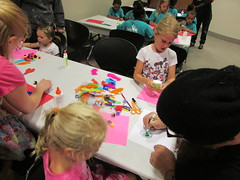 On July 5, 2016, the Childrens' department at the Main Library had an Open Art program where kids were given lots of supplies and freedom to create whatever they chose. (ACPL) Tags: fortwaynein acpl allencountypubliclibrary mainlibrary childrensservices children kids openart
