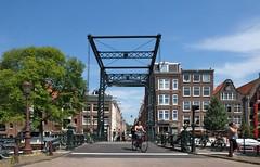 A Typical Lifting Bridge, Amsterdam (elhawk) Tags: bridge liftingbridge canal amsterdam