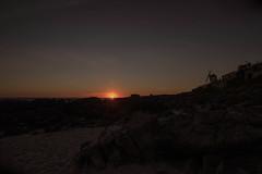 Panorámica  Atardecer Rocas y Mar 4 (Garimba Rekords) Tags: mougás oia pontevedra galicia galiza panorámica atardecer cantábrico mar