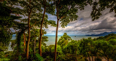 Seaview from Koh Chang (Stan Smucker) Tags: sea jungle mountain kohchang travel landscape