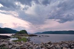 Presqu'le sur le fjord (Lucien-Guy) Tags: petitsaguenay fjorddusaguenay le presqule rivire saguenay nuages river clouds