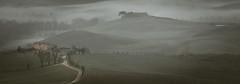 misty morning (A.Gutkin) Tags:   italy toscana tuscany nikon pienza