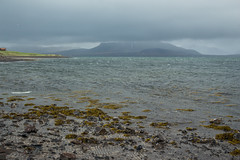 Kirkjufell 04 (sarahmonious) Tags: kirkjufell snfellsnespeninsula snfellsnes mountain churchmountain fog clouds ocean ringroad route1iceland route1 iceland iceland2016 traveling