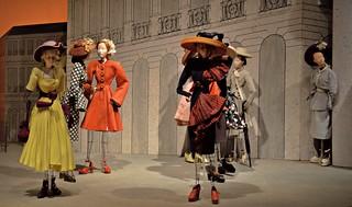 A miniature theatre of fashion dolls 6 18 2016