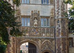 The Great Gate (Tim Ravenscroft) Tags: great gate trinity collegecambridge architecture cambridge college