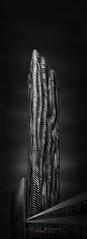 Urban Saga V – Aqua Serenity - Chicago (Julia-Anna Gospodarou) Tags: chicago chicagoarchitecture fineart fineartarchitecturalphotography envisionography photographydrawing phtd juliaannagospodarou aquabuilding blackandwhite blackandwhitefineartphotography modernarchitecture