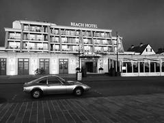 Beach Hotel (tonzandbergen) Tags: car hotel beach noordwijk gt opel