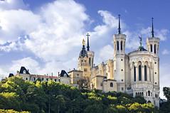 Lyon Notre Dame de Fourvire Basilica (Context Travel) Tags: lyon shutterstock restoffrance
