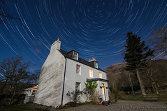 Isle of Skye (Joey Hodgson *lost everything, now re-uploading*) Tags: isleofskye house stars startrails night photo photography astro home scotland uk landscape trails polaris sky nightsky joeyhodgsonphotography landscapephotography sony a55