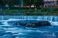 Tor Magnus Anfinsen-000133 (Tor Magnus Anfinsen) Tags: water silk kongsberg norge norway human people city town by buskerud nikon long exposiur