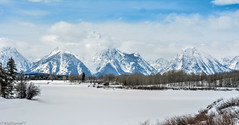 Grand Tetons (cheehoeee1) Tags: grand tetons national park wyoming spring mountains snow lake frozen usa lanscape surreal scenic landscape amazing