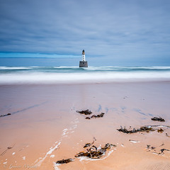Rattray Head Lighthouse (Francis Mridha) Tags: beautifulscotland clouds destination francismridhaphotography lighthouse longexposure nikon northsea rattrayhead rattrayheadlighthouse scotland seascape travel visitscatland water