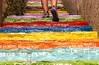 Escalera a Ribadesella (elmagodelabahia) Tags: ribadesella asturias asturies españa spain escalera escalones stairway stairs colores frases colors colours sentences phrases pies piernas feet legs merrell