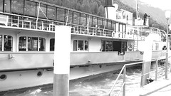 """On Brienzersee:  Cruising on Paddle Steamer """"Lötschberg"""" (Video) (velodenz) Tags: switzerland schweiz la suisse svizzera brienzersee cruising paddle steamer lötschberg interlaken brienz velodenz fujifilm x30 digital image pic picture phot photo photograph photography travel trip voyage voyager voyageur railway touring company rtc railroad chemindefer holiday vacation france bernese highlands berner oberland bahnzug eisenbahn video movie motion cinematography repostmyfuji repostmyfujifilm fuji xseries boat boats bateau bateaux barco barcos schiff boote skiff"""