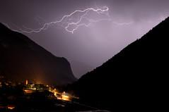 Paesaggio (Luciano Sperandio) Tags: fulmine caoria vanoi