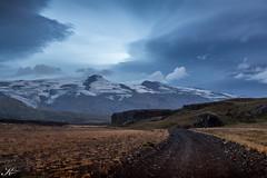Island 2016_Hochland rsmrk_ (Svenja Kalus) Tags: island2016 island iceland rsmrk hochland sonnenuntergang gletscher eyjafjallajkull berge