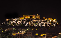 Acropolis by night (Vagelis Pikoulas) Tags: acropolis athens greece ancient architecture archaelogical archaeology august summer 2016 capital city cityscape canon 6d tamron 70200mm vc night nightscape