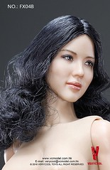 VERYCOOL TOYS VCF-X04 Asian Female Body Set - B6 (Lord Dragon ) Tags: 16scale 12inscale onesixthscale actionfigure doll hot toys verycool female