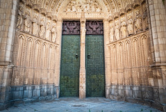 Toledo Cathedral Entrance (Context Travel) Tags: madrid toledo shutterstock