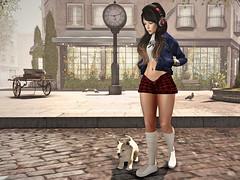 Time to change. ( l l) Tags: elikatira vidaloca synystercreations catwa jian itdoll doll sl secondlife avatar cute pet dog city girl fashion friday maitreya