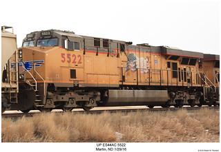 UP ES44AC 5522