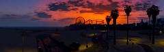 Grand Theft Auto V (ConnecteD\_) Tags: gtav sunset sky beach ferris wheel palm trees clouds ocean screenshot panorama