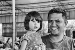 Faces of Betong (J316) Tags: j316 jesus father betong potraits man daughter child islam muslim thailand sony a77 tamron blackandwhite portraiture smiles