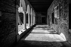 P9242632 Italy Venice (Dave Curtis) Tags: 2013 em5 europe italy omd olympus venice cloisters