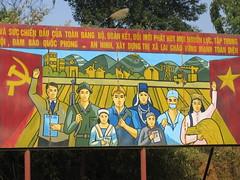 Communist sign in the north of Vietnam (mbphillips) Tags: fareast southeastasia vietnam 越南 ベトナム 베트남 asia アジア 아시아 亚洲 亞洲 mbphillips canonixus400