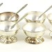 2024. Set of Six Sterling Silver Salts