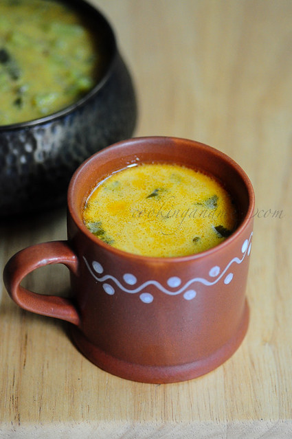 Coconut Milk Rasam-Thengai Pal Rasam-Rasam Recipes