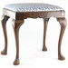 196. Antique Queen Anne Style Foot Stool