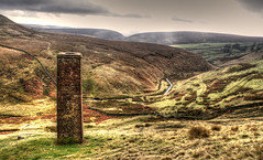Peak District (Raven Photography by Jenna Goodwin) Tags: trees sky jenna tree beautiful grass stone wall clouds landscape photography colours district derbyshire sony peak dry alpha a200 raven hdr goodwin