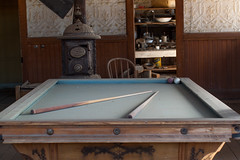 Next Game (kapshure) Tags: california abandoned pool table decay ghosttown bodie dust pooltable
