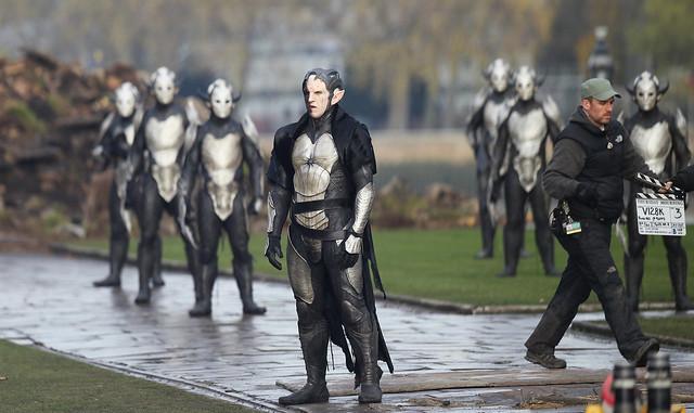 【雷神索爾2:黑暗世界】最新劇組間諜照曝光反派角色造型