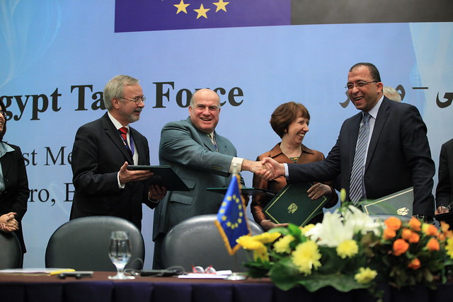 EU-Egypt Task Force Signing Ceremony