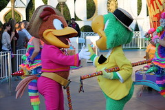 Soundsational - Panchito and Jose (jodykatin) Tags: disneyland disney josecarioca panchitopistoles mickeyssoundsationalparade