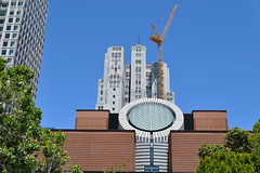 Museum Of Modern Arts Is On The Move...Lifted , Lock Stock And Barrel.... (Sunciti _ Sundaram's Images + Messages) Tags: sanfrancisco california usa architecture museumofmodernart anawesomeshot aplusphoto agradephoto awesomescenery abovealltherest artofimages artofatmosphere