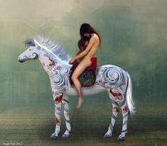 Lady Godiva. (rubyblossom.) Tags: street horse london lady nude ride bare mmm 16th challenge godiva rubyblossom rubystreasures