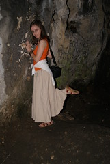Inside the cave (Berciquez) Tags: woman cute sexy feet girl beautiful beauty foot pretty artistic sandals bare longhair nails barefoot barefeet ankles longskirt