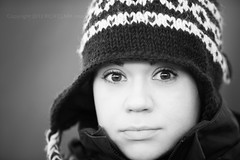 Ailsa (Rich Clark | Images) Tags: portrait blackandwhite woman sexy beach girl monochrome beautiful hat lady female eyes cornwall gorgeous knit surprised knitted beanie sexylady sandymouth kernow gangnamstyle