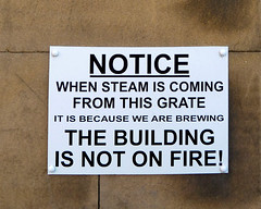 The Building Is Not On Fire!
