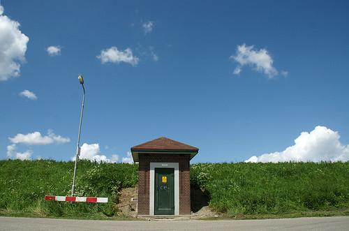 """Kruiningen, Zanddijk 10a: Trafostation """"Capelleweg"""""""