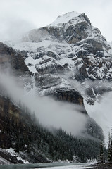 Winter in June (kenanmalik1) Tags: winter snow mountains landscape nikon canadianrockies lakemoraine nikond7000