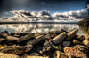 Land Sea Air (eCHstigma) Tags: nikon d600 tokina ultrawide landscape seascape clouds storm pier dumbarton bay hdr fremont california 1735mmf4